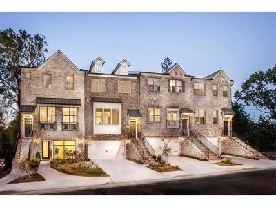 Atlanta Condo/Townhouse For Sale: 1825 Hislop Lane