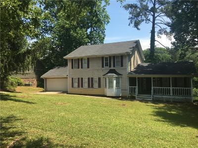 Lilburn Single Family Home For Sale: 1839 Rolling River Drive SW