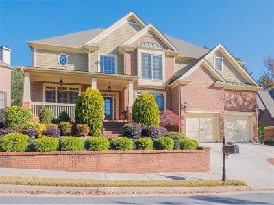 Smyrna Single Family Home For Sale: 4530 Oak Brook Drive SE