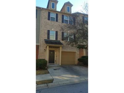 Atlanta Condo/Townhouse For Sale: 3630 Utoy Drive SW #3630