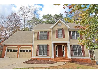 Powder Springs Single Family Home For Sale: 3380 Split Wood Way