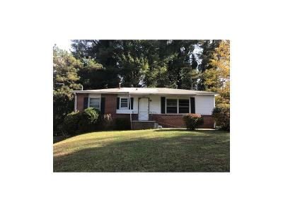 Single Family Home For Sale: 3794 Clovis Court NW