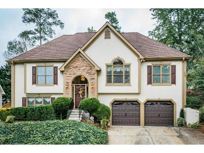 Kennesaw Single Family Home For Sale: 2989 Kaley Drive NW