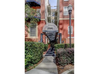 Atlanta Condo/Townhouse For Sale: 2840 Peachtree Road