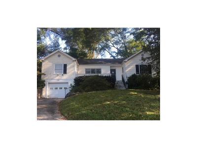 Atlanta Single Family Home For Sale: 495 Woodward Way NW