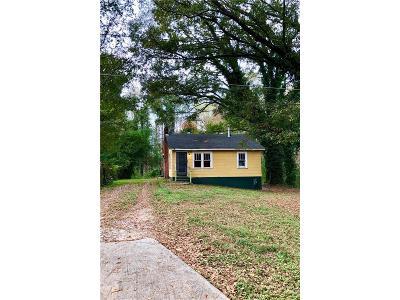 Atlanta Single Family Home For Sale: 3427 Almand Road SE