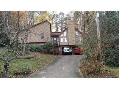 Marietta Single Family Home For Sale: 2386 Wilderness Way