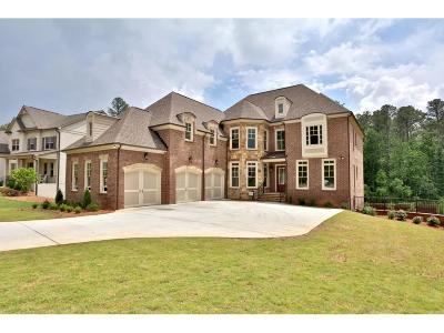 Alpharetta Single Family Home For Sale: 114 Manor North Drive