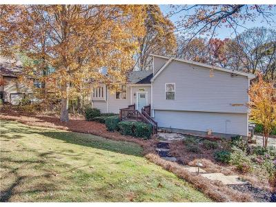 Woodstock Single Family Home For Sale: 166 W Putnam Ferry Road