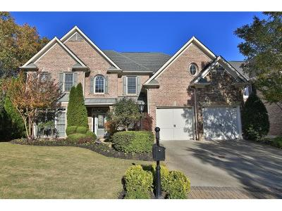 Johns Creek Single Family Home For Sale: 12755 Wyngate Trail