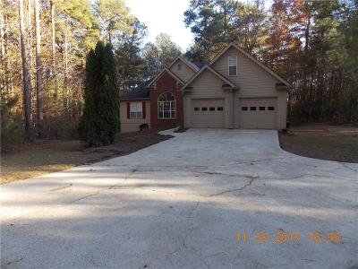 Dacula Single Family Home For Sale: 3081 Luther Wages Road
