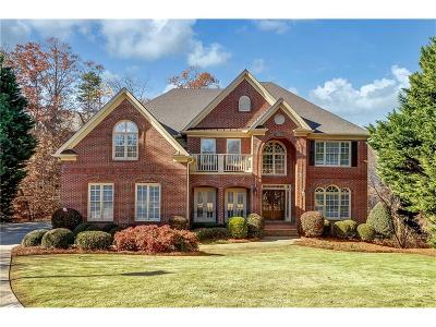 Johns Creek Single Family Home For Sale: 740 Woodscape Trail