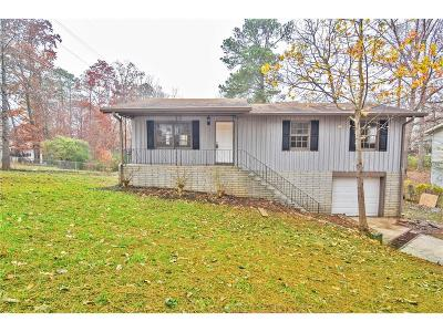 Kennesaw Single Family Home For Sale: 2514 Woodland Drive