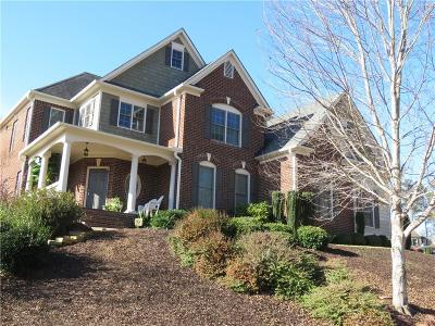 Kennesaw Single Family Home For Sale: 4847 Wildrose Court NW