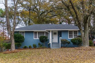Atlanta Single Family Home For Sale: 1960 Brewer Boulevard SW