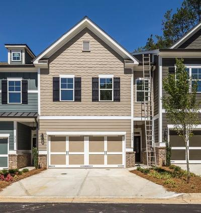 Sandy Springs Condo/Townhouse For Sale: 5724 Taylor Way #5