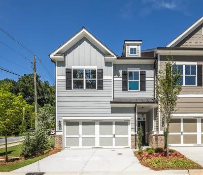 Sandy Springs Condo/Townhouse For Sale: 5716 Taylor Way #1