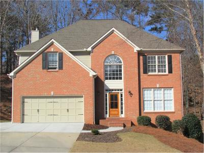 Cumming Single Family Home For Sale: 2525 Ivey Crossing Trail