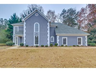 Suwanee Single Family Home For Sale: 1210 Swan Mill Court