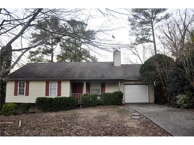 Norcross Single Family Home For Sale: 1236 Williamsburg Lane