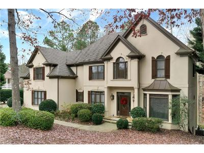 Johns Creek Single Family Home For Sale: 6055 Sweet Creek Road NW