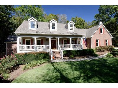 Cobb County Single Family Home For Sale: 2721 County Line Road NW