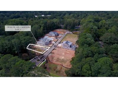 Alpharetta Residential Lots & Land For Sale: 2110 Canton View