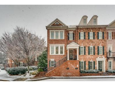 Cobb County Condo/Townhouse For Sale: 4383 Bridgehaven Drive SE