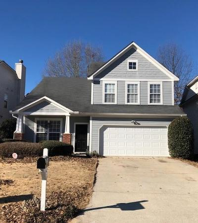 Kennesaw Single Family Home For Sale: 1425 Lady Slipper Court NW