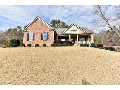 Braselton Single Family Home For Sale: 183 Hunting Hills Drive