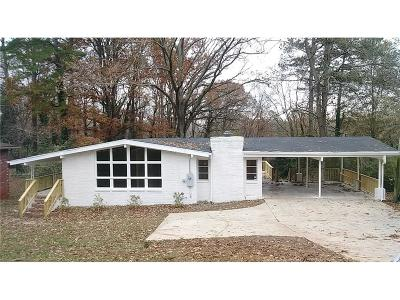 Single Family Home For Sale: 535 N Hairston Road