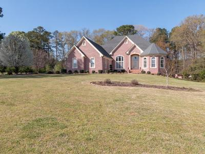 Single Family Home For Sale: 319 Alcovy Trestle Road