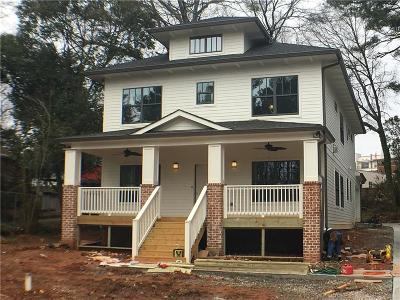 Decatur Single Family Home For Sale: 875 Derrydown Way