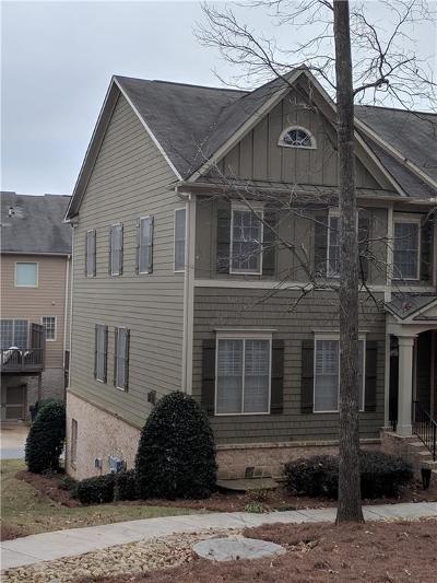 Cobb County Condo/Townhouse For Sale: 3795 Elhew Lane SW #1