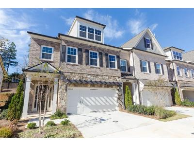 Cobb County Condo/Townhouse For Sale: 3283 Artessa Lane