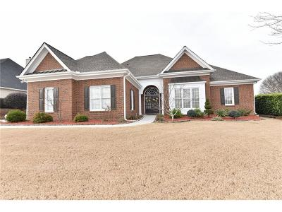 Lawrenceville Single Family Home For Sale: 1003 Autumn Blaze Lane