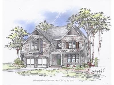 Marietta Single Family Home For Sale: 337 Ellis Preserve Lane SW