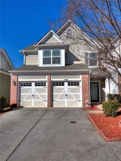 Kennesaw Condo/Townhouse For Sale: 3611 NW Silver Brooke Lane NW