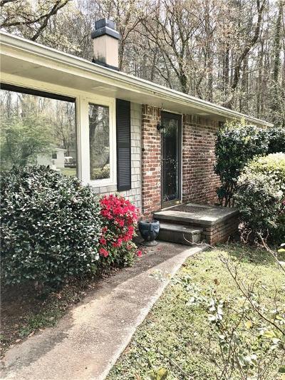 Brookhaven Single Family Home For Sale: 1743 Wayland Circle NE