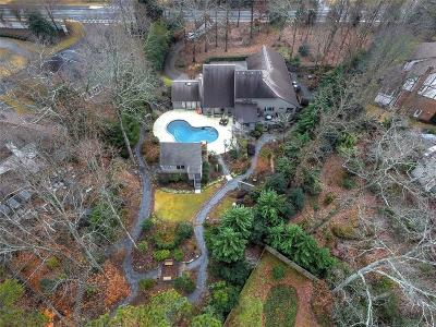 Marietta Single Family Home For Sale: 5245 Lower Roswell Road