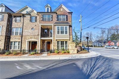 Atlanta Condo/Townhouse For Sale: 1442 Druid Manor Boulevard