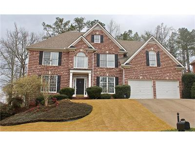 Kennesaw Single Family Home For Sale: 4316 White Hickory Lane NW