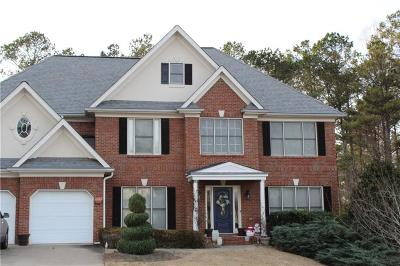 Kennesaw Single Family Home For Sale: 1257 Hadaway Garden Drive NW
