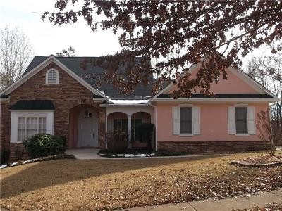 Kennesaw Single Family Home For Sale: 2635 Morningside Trail NW