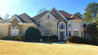 Johns Creek Single Family Home For Sale: 12250 Magnolia Circle
