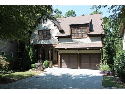 Kennesaw Single Family Home For Sale: 1472 Hedgewood Lane NW