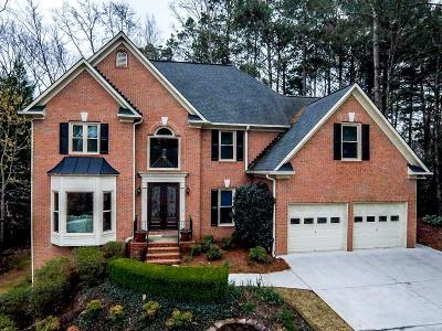 Woodstock Single Family Home For Sale: 1026 Towne Lake Hills E