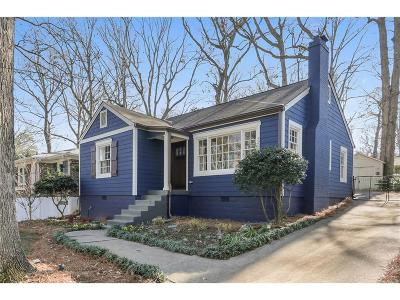 Decatur Single Family Home For Sale: 1713 Coventry Road