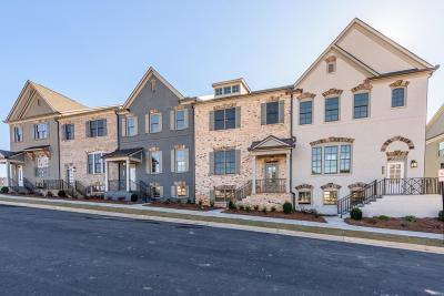 Brookhaven Condo/Townhouse For Sale: 1874 Skyfall Circle #53