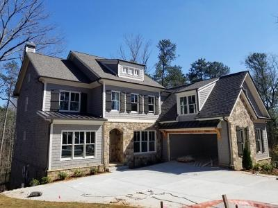 Sandy Springs GA Single Family Home For Sale: $1,325,000